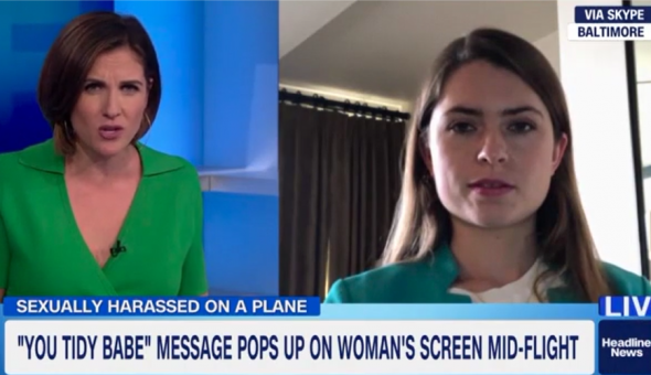 Jessica Van Meir speaks to CNN about her experience of in-flight sexual harassment.