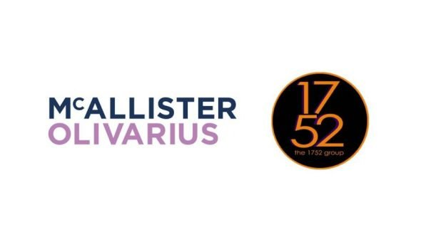 Image of logos of McAllister Olivarius and the 1752 Group.