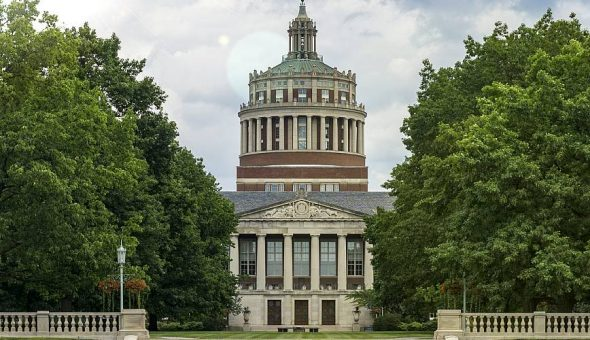 Photo of the University of Rochester campus.