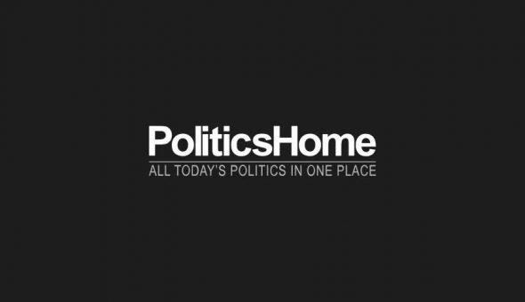 Image of PoliticsHome's logo.