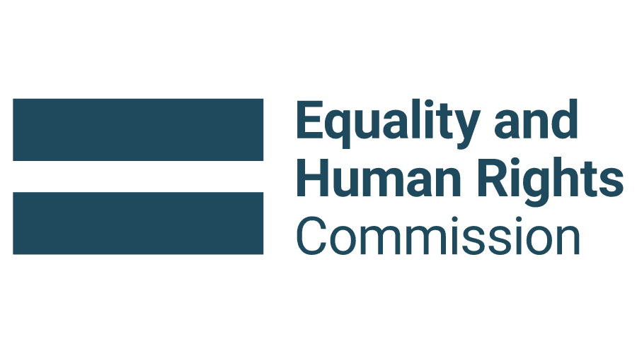 image of the Equality and Human Rights Commission logo.