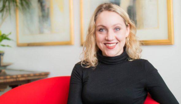 Photo of Anna Stileman, Marketing Executive of McAllister Olivarius.