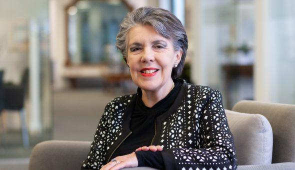 Photo of Annette Spencer, Hennerton Office Manager of McAllister Olivarius.