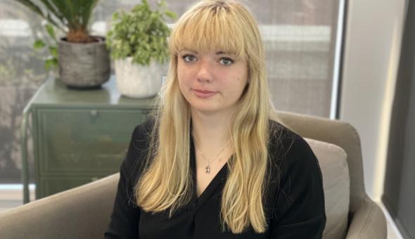 Emilia Gaca, Legal Assistant to the Senior Partner of McAllister Olivarius.