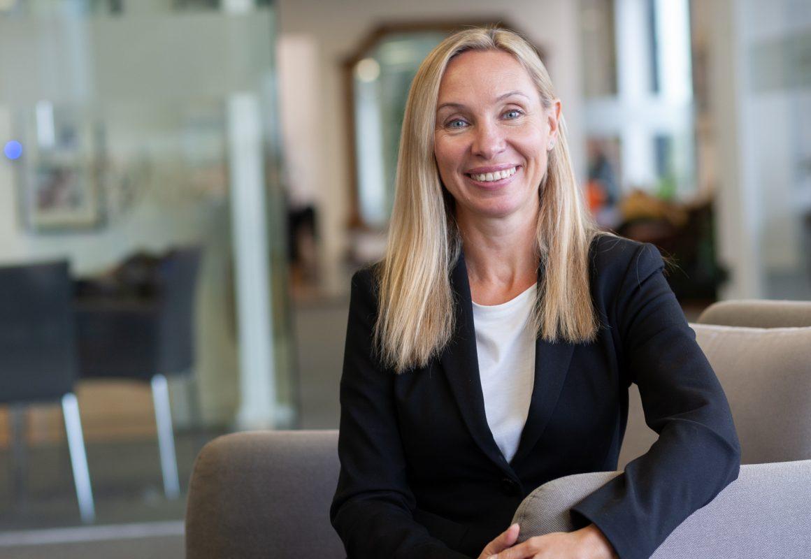 Photo of Marina Kosheleva, Finance Manager of McAllister Olivarius.