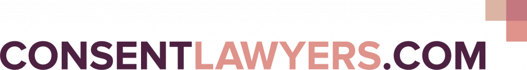 Image of ConsentLawyers logo - an initiative to tackle revenge porn by the law firm McAllister Olivarius.
