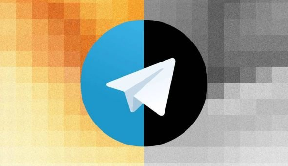 Image of Telegram's logo.