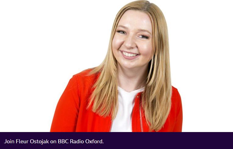 photo of Fleur Ostojak presenter BBC Radio Oxford.