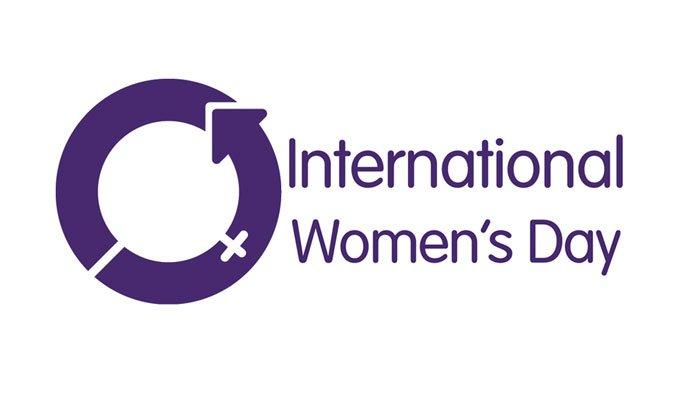 image of International Women's Day logo.