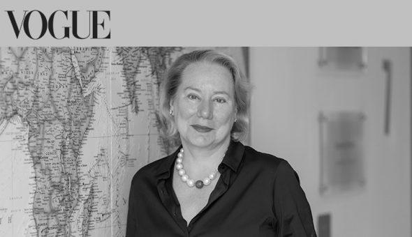Dr Ann Olivarius featured in British Vogue.
