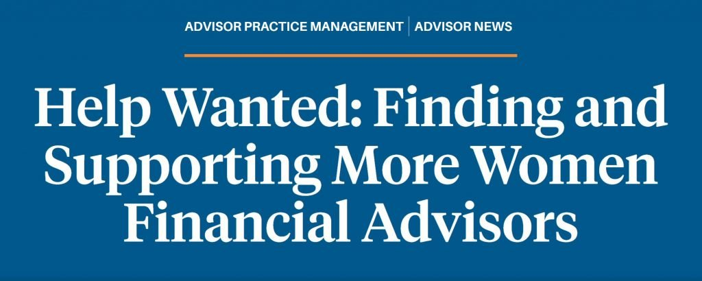 Designed article title from Barron's Advisor interview.