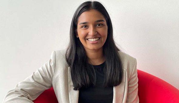 Photo of Davina Patel, Legal Analyst at McAllister Olivarius.