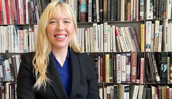 Photo of Elle Winfield, Legal Analyst at McAllister Olivarius.
